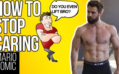 How To Stop Caring What People Think of You (Fitness Edition)