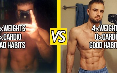 Stop Your Bad Eating Habits To Get Shredded (4 STEPS)