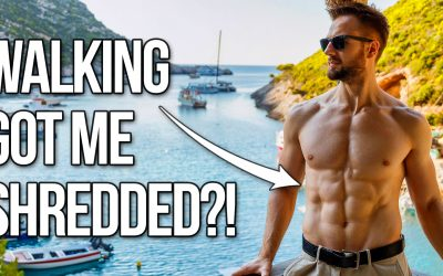 Walking Got Me Shredded?? Here's What I Actually Did (The Truth)