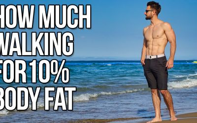 How Much Walking To Get To 10% Body Fat (My Walking Routine)