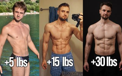 How Gaining 30 lbs of Muscle Changed My Body? (Real Natural Example)